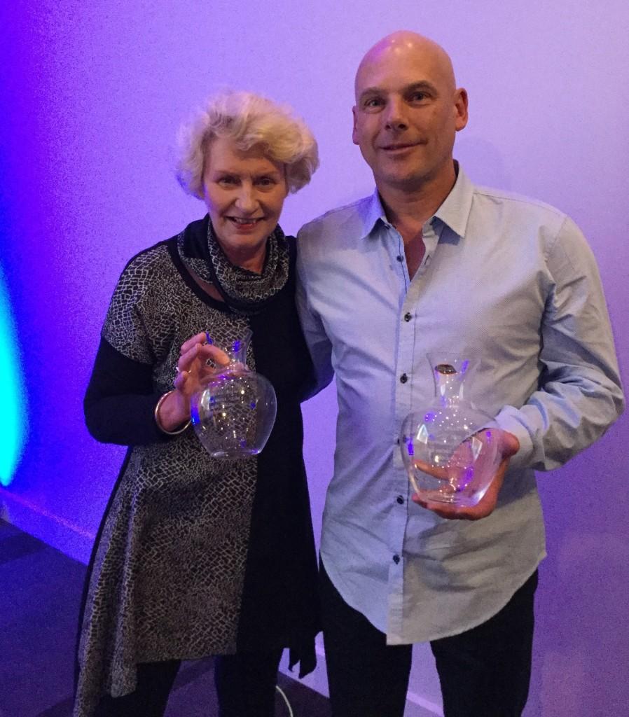 Scott Stevens - Mistletoe Wines & Mary McLeish - McLeish Estate Class 9 Joint Winners